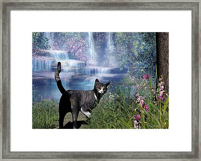 On The Way Home Framed Print by Sipo Liimatainen