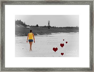 On The Way To Tomorrow Framed Print