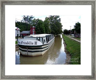 On The Whitewater Canal Framed Print by Charles Robinson