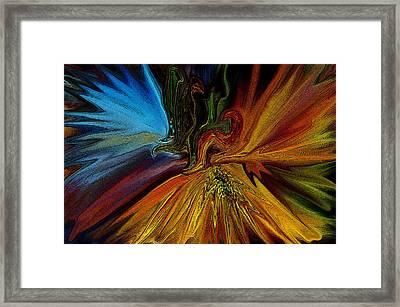 On The Wild Side Framed Print