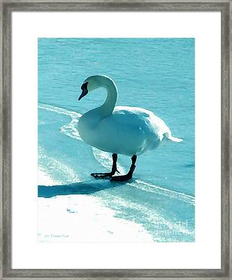 On Thin Ice Framed Print by Cristophers Dream Artistry