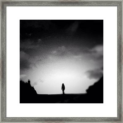 On Top O The World - Re Edit Framed Print