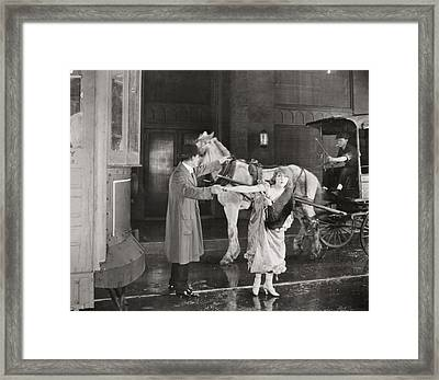 On With The Dance, 1920 Framed Print