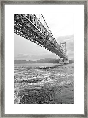 Onaruto Bridge Framed Print by Miguel Castaneda