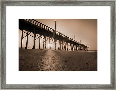 Once Every Morning  Framed Print by Betsy Knapp