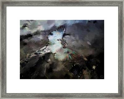Once He Flew High Framed Print by Gun Legler