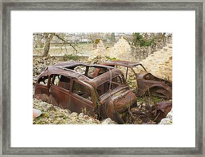 Once There Was Life Framed Print by Georgia Fowler