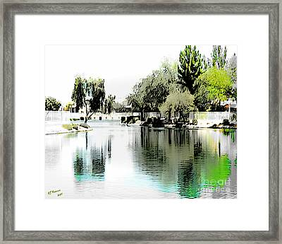 Once Upon A Reflection Framed Print