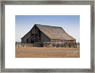 Once Was New Framed Print by Larry Keahey
