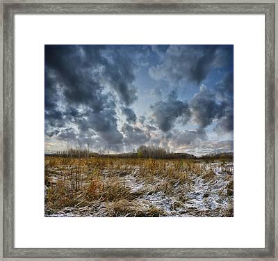 One Autumn Day Framed Print by Vladimir Kholostykh