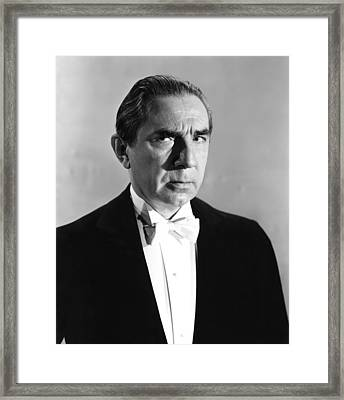 One Body Too Many, Bela Lugosi, 1944 Framed Print by Everett