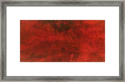 One Color Framed Print by Amr Miqdadi