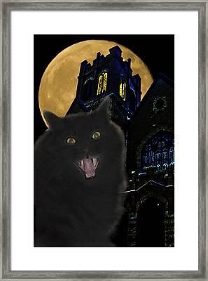 One Dark Halloween Night Framed Print by Shane Bechler