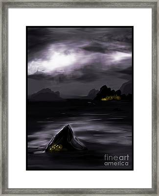 One Dark Night Framed Print by J Kinion