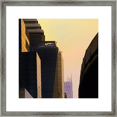 One Day In Bangkok And World's Your Framed Print