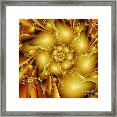 One Evening In Summer Framed Print by Michelle H