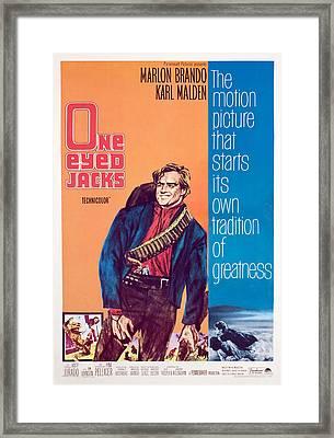 One-eyed Jacks, Marlon Brando, 1961 Framed Print by Everett