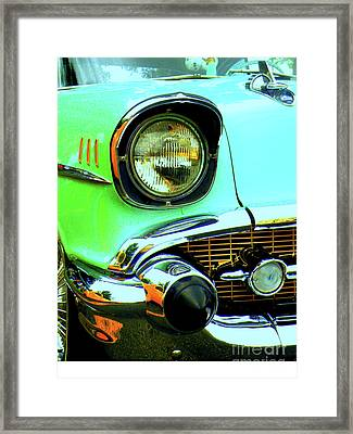 One Eyed Monster Framed Print by Joe Jake Pratt