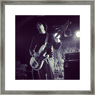 One From Tonight's Gig Framed Print