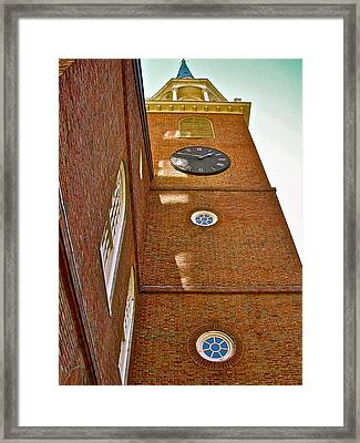 One If By Land Framed Print by Frank SantAgata