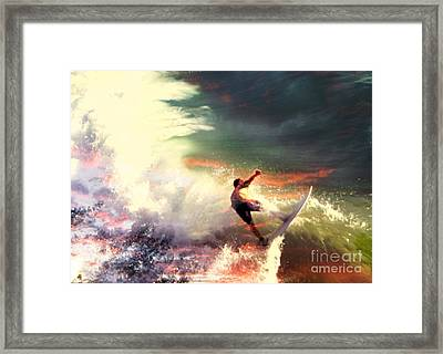 One Last Ride Framed Print by Kevin Moore