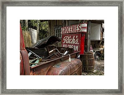 One Mans Treasure Framed Print by Peter Chilelli