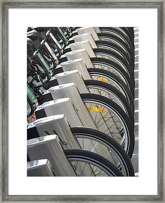 One Missing Framed Print by Steven Huszar