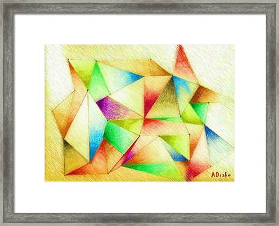 One Night Of Dreams Framed Print by Alec Drake