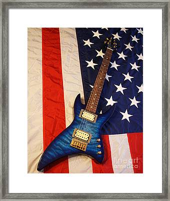 Framed Print featuring the photograph One Of A Kind...  Made In The U. S. A. by Tony Cooper