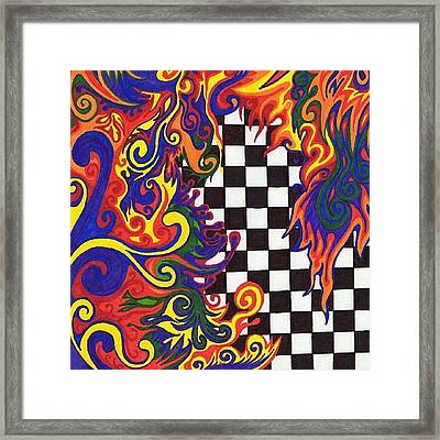 One Of A Kind Sharpie Art From Framed Print