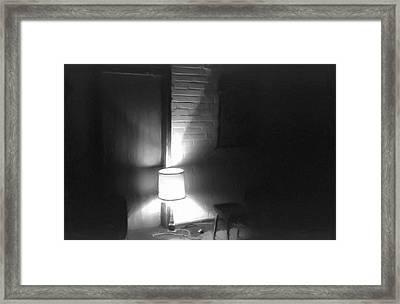 One Room One Light -- Ein Zimmer Ein Licht Framed Print by Arthur V Kuhrmeier