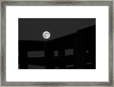 One Small Step For A Man Framed Print by Melany Sarafis
