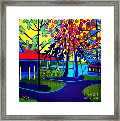 One Spring Day Manchester-by-the-sea Framed Print by Debra Bretton Robinson