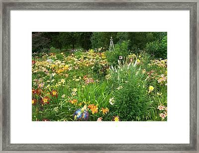 One Summer Day Framed Print