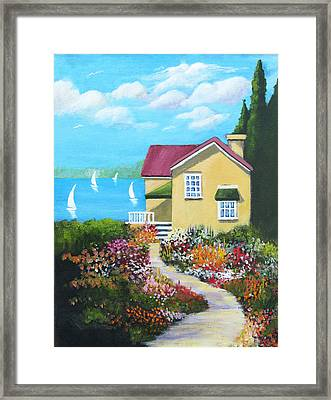 One Sunny Afternoon Framed Print