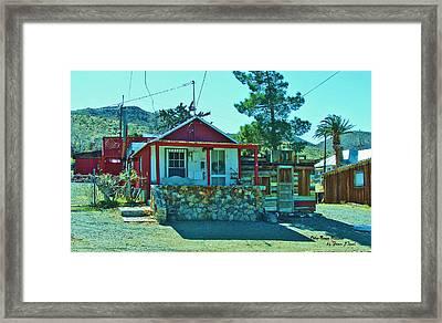 One Tree House Framed Print by Jean Paul LeBlanc