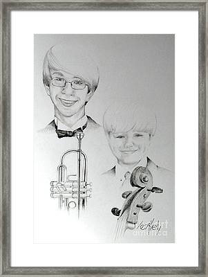 One With The Music Framed Print by Bill Leavell