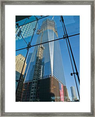 One Wtc Rising Framed Print