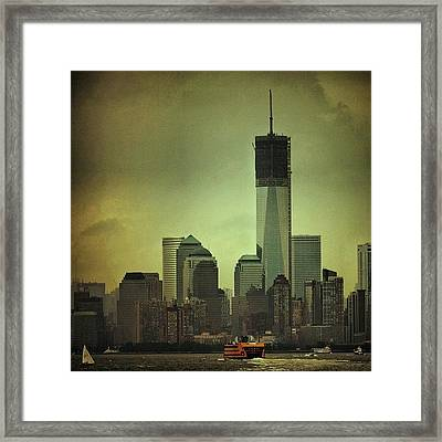 One Wtc Tower - New York Framed Print