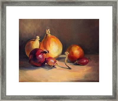 Onions Etc. Framed Print