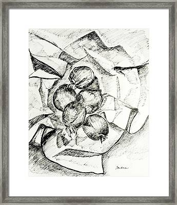 Onions Framed Print by Lynda K Boardman