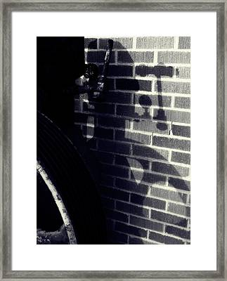 Only A Shadow Framed Print by Steven Milner