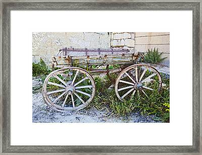 Only One Previous Owner Framed Print by Kantilal Patel