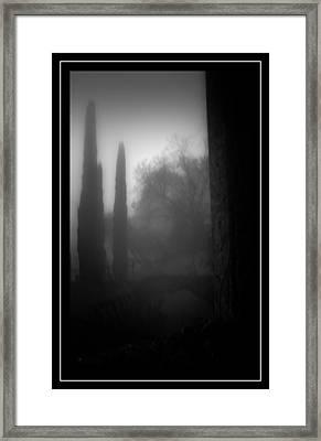 Onyric Framed Print by Michele Mule'