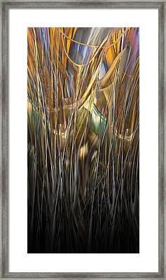 Onyx Growth II Framed Print