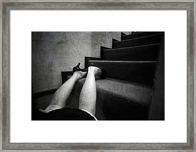 Oops... Framed Print by Laura Melis