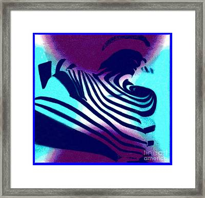 Op Art Design 1 Framed Print by Christine Perry