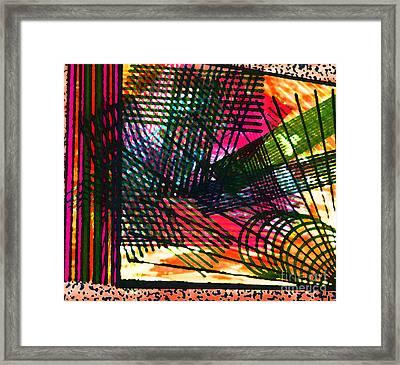 Op Strings Framed Print by TB Schenck