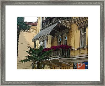 Opatija-4 Framed Print by Rezzan Erguvan-Onal
