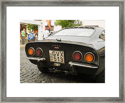 Opel Car Framed Print by Odon Czintos